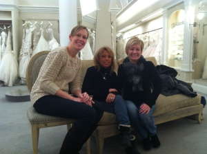 My sister in law, Stacey, my Aunt Sue, and my mom
